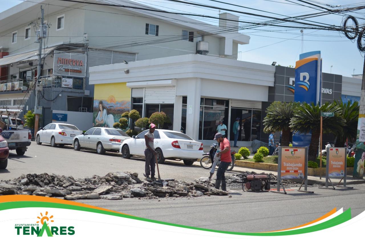 Reconstrucción del Badén Ubicado en la Calle Dr. Tejada Florentino