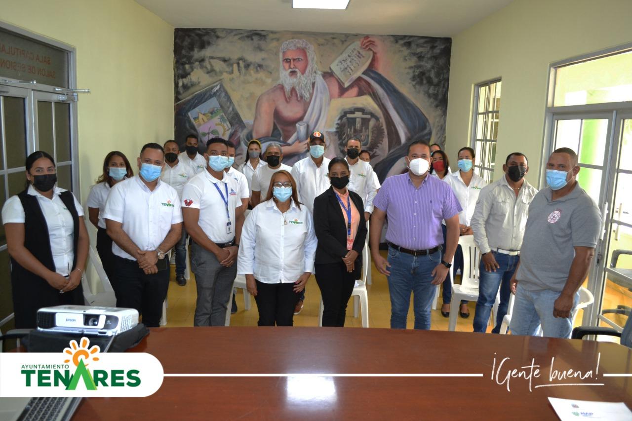 Ayuntamiento de Tenares llevó a Cabo en Conjunto con el Ministerio de Administración Publica la Importante Charla Encuesta de Clima y Cultura Organizacional.