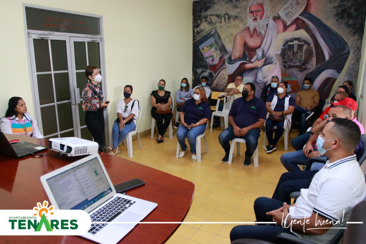 Ayuntamiento Municipal de Tenares, Continúa con la capacitación de sus colaboradores